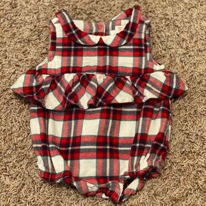 Cat and Jack Plaid One-Piece